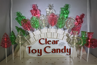 Clear Toy Candy Lollipops